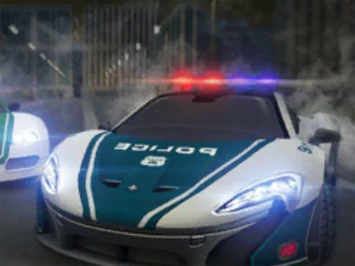 Dubai Police Supercar Rally