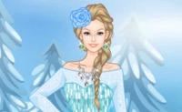 Frozen Barbie Dress-Up