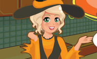 Mia Cooking Pumpkin Pie