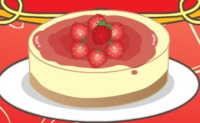 Mia Cooking Strawberry Cheesecake