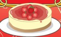 Mia Cooking Strawberry Cheesecake