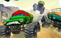 Ninja Monster Trucks