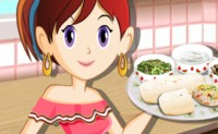 Sara's Cooking Class: Burrito's