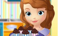 Sofia the First Cooking Muffins