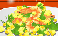 Spicy Corn and Shrimp